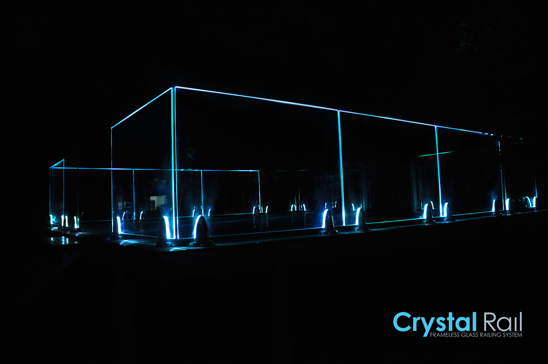 Crystalrail Frameless Glass System