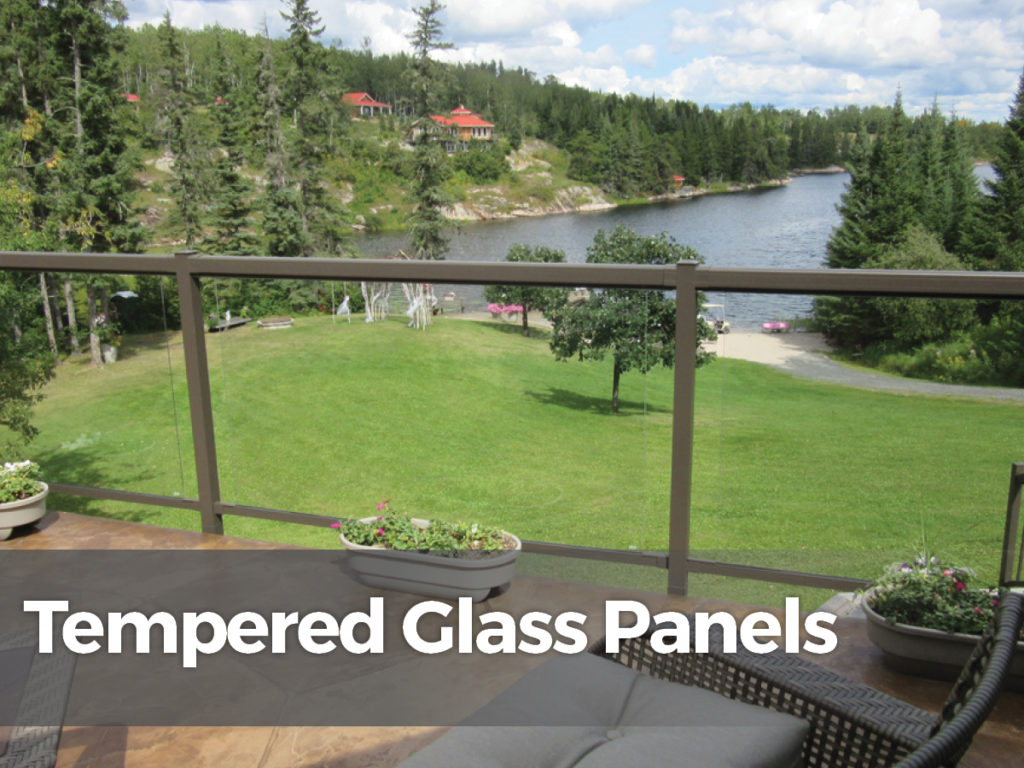 Tempered glass panels for deck railing we took a number of photos in different light to attempt - Advantage using tempered glass fencing swimming pool balcony deck ...