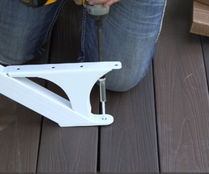 Making Sure Your Quickstep Stair Stringer Is Straight Fasten The Bottom Of If You Are Sitting On A Deck Or Platform Want To Make